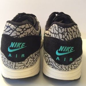 13066414b81f66 Nike Shoes - Nike Air Max 1 Atmos Elephant Print